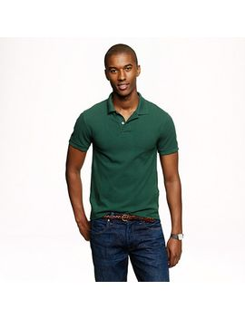 slim-classic-piqué-polo-shirt by jcrew
