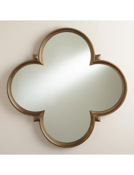 gold-quatrefoil-nala-mirror by world-market