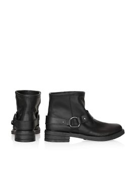 buster-harness-biker-boots by topshop