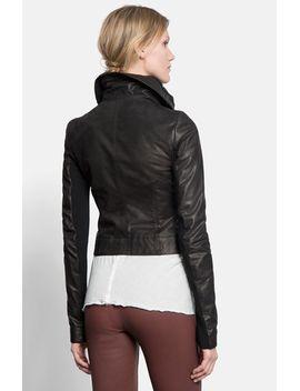 classic-calfskin-leather-biker-jacket by rick-owens