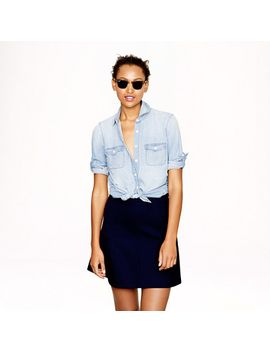 keeper-chambray-shirt by jcrew