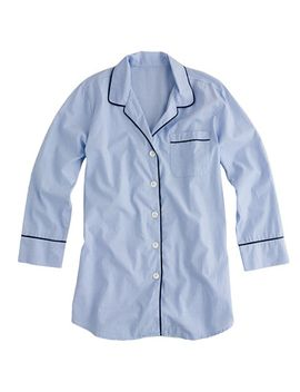 nightshirt-in-end-on-end-cotton by jcrew