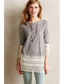 recessed-lace-sweatshirt by sunday-in-brooklyn