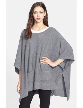 cashmere-poncho by nordstrom-collection