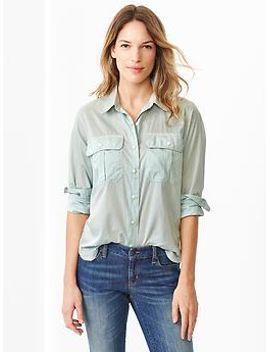 utility-shirt by gap