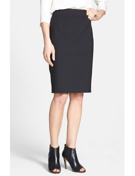 joanie-stretch-wool-pencil-skirt by theory