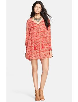 marlow-print-pintuck-pleat-shift-dress by free-people