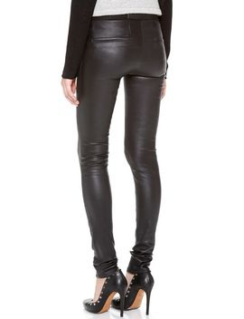 stretch-leather-pants by helmut-lang