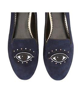 evil-eye-smoking-slipper by cwonder