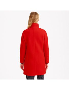 tall-stadium-cloth-cocoon-coat by jcrew