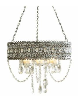 midwest-cbk-greywash-beaded-hanging-candle-chandelier by midwest-cbk