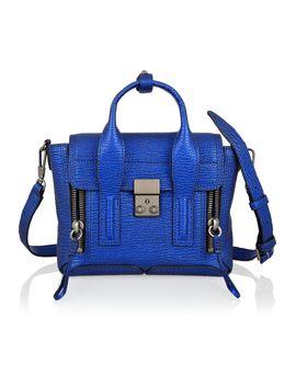 the-pashli-mini-metallic-textured-leather-trapeze-bag by 31-phillip-lim