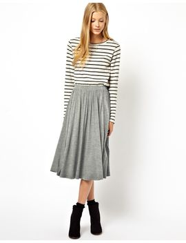 asos-full-midi-skirt by asos-collection