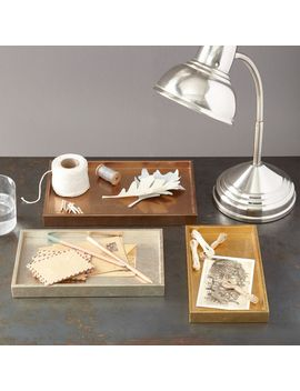 metallic-lacquer-tray-set by west-elm
