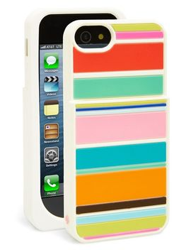 beach-stripe-pocket-iphone-5-&-5s-case by kate-spade-new-york