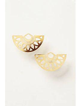 aperitif-openwork-earrings by anthropologie