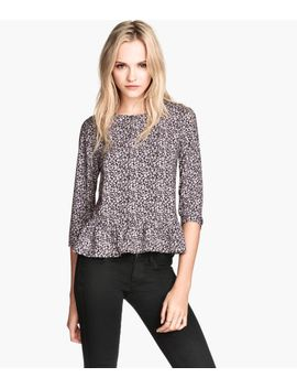 ruffled-blouse by h&m