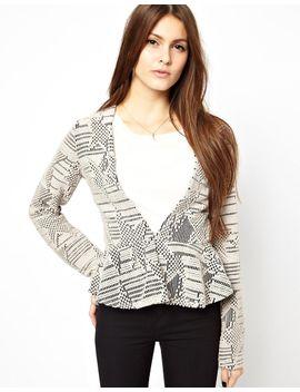 vila-focusa-printed-blazer by asos