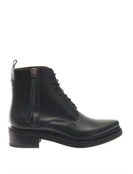 linden-leather-boots-(202579) by acne-studios