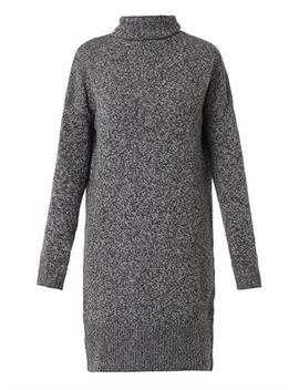 wool-and-cashmere-blend-knit-dress-(209179) by mcq-alexander-mcqueen