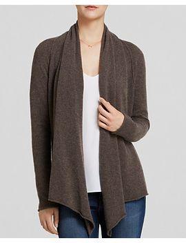 aqua-cashmere-cardigan---drape-front- by drape-front