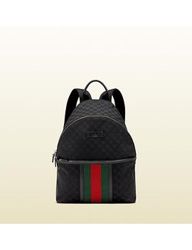 original-gg-canvas-backpack by gucci