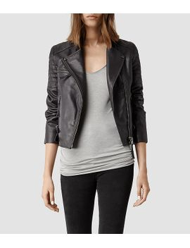 dorsey-leather-biker-jacket by allsaints