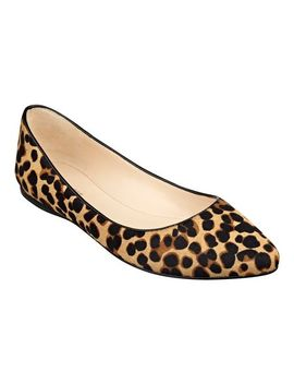 speakup-pointy-toe-flats by ninewest