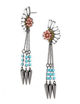 spiked-chieftess-drops by baublebar