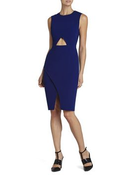 tawny-sleeveless-cutout-waist-dress by bcbgmaxazria