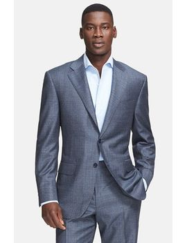 classic-fit-plaid-wool-suit by canali