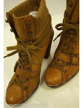 nine-west-cuzza-boots-in-75m--tabacco-lace-up-with-adjustable-strap-,,stacked by nine-west