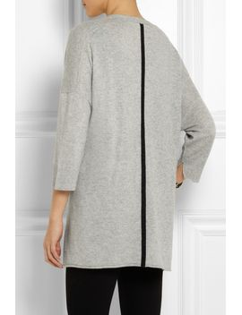 two-tone-cashmere-cardigan by duffy