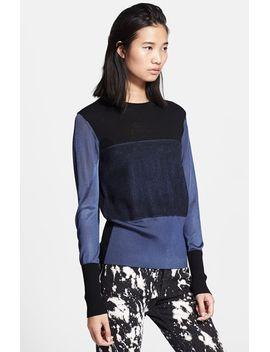 marissa-colorblock-sweater by rag-&-bone