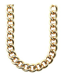 anne-klein-curb-chain-collar-necklace by generic
