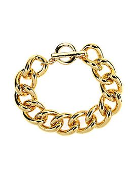 anne-klein-curb-link-toggle-bracelet by generic