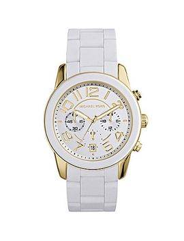 michael-kors-mercer-silicone-chronograph-watch by generic