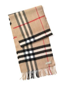 heritage-check-cashmere-scarf by burberry