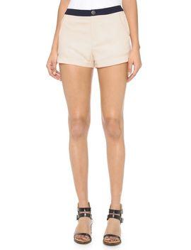 ivory-shorts by joa