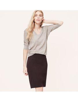 custom-stretch-pencil-skirt by loft