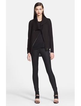 villous-zip-front-sweatshirt by helmut-lang