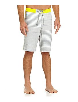 jkl-just-keep-livin-stripe-mash-up-board-shorts by generic