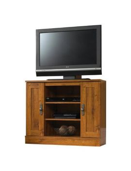 sauder-harvest-mill-corner-entertainment-stand,-abbey-oak-finish by sauder