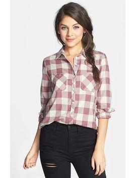 plaid-cotton-shirt by bp