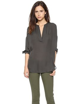 long-sleeve-popover-top by vince