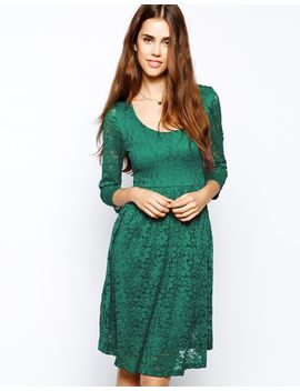 max-c-midi-dress-in-lace by casual-dress