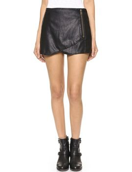 faux-leather-miniskirt by free-people