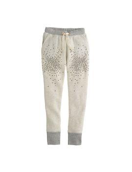 girls-sparkle-fleece-pant by jcrew