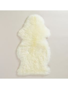 21x41-ivory-new-zealand-sheepskin-area-rug by world-market