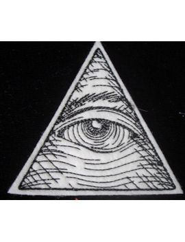 embroidered-eye-of-providence-iron-on-patch by heatherostrow